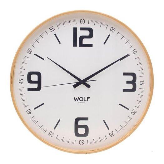 "WOLF 21"" Round Wall Clock"