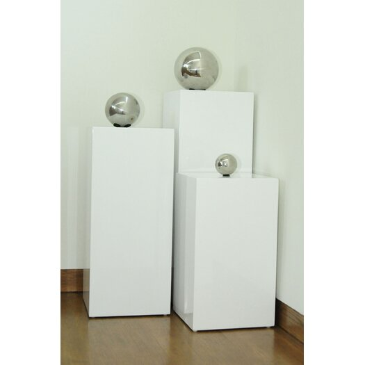 Pangea Home Ibiza 3 Piece Pedestal Set