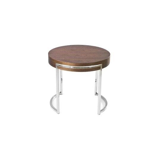 Pangea Home Leah End Table