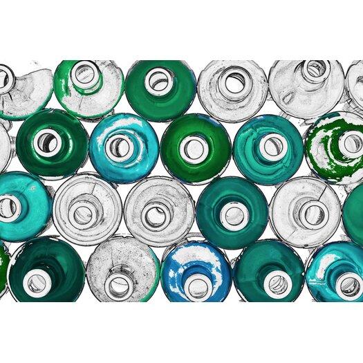 JORDAN CARLYLE Abstract Liquid Life #8 Framed Graphic Art