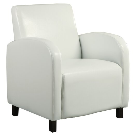 Monarch Specialties Inc. Leather Look Arm Chair