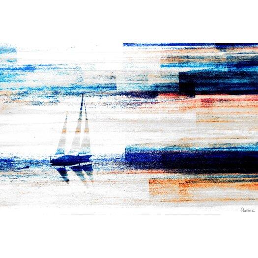 Aegean Sea Graphic Art on Canvas