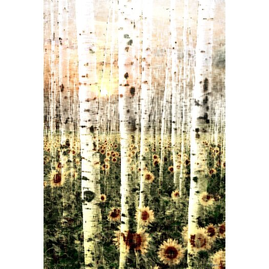 Daisy Forest - Art Print on Premium Wrapped Canvas