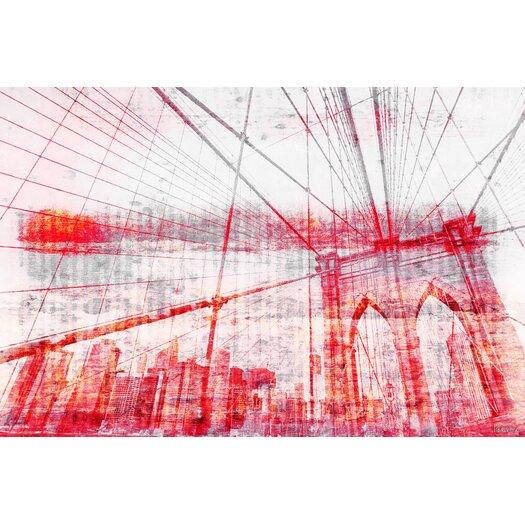 Brooklyn Bridge - Art Print on Premium Wrapped Canvas