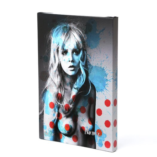 Parvez Taj American Beauty Graphic Art on Premium Wrapped Canvas