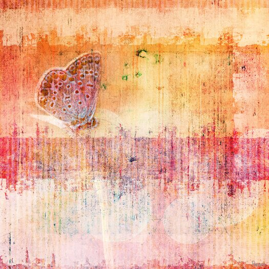 Butterfly Painting Print