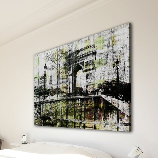 Parvez Taj Champs Elysees - Art Print on Premium Canvas