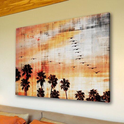 Parvez Taj Ocean Trails Graphic Art on Premium Wrapped Canvas