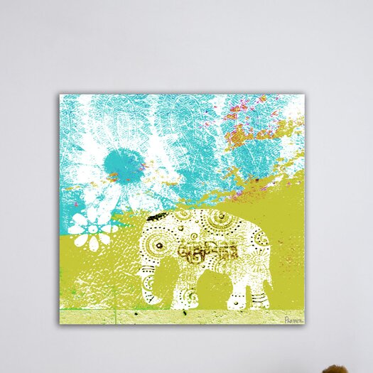 Parvez Taj Udaipur Graphic Art on Premium Wrapped Canvas