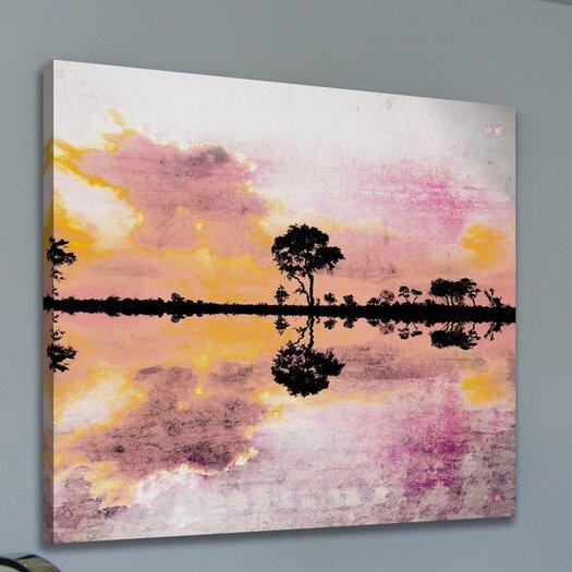 Parvez Taj Reflecting Pond - Art Print on Premium Canvas