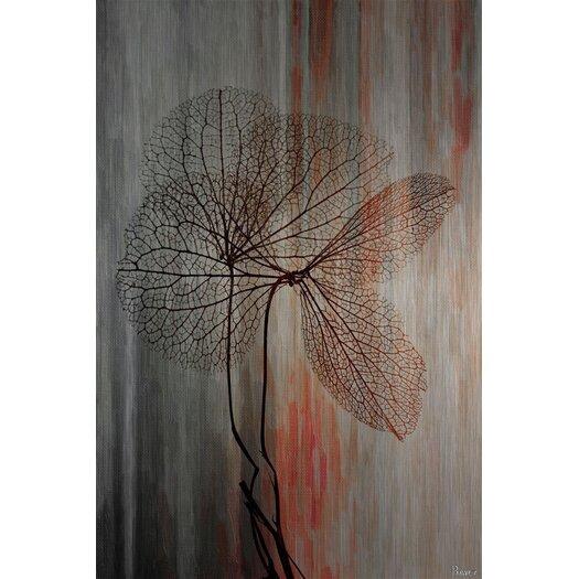 Sea Tree Graphic Art on Brushed Aluminum
