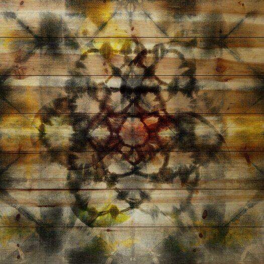 Floral Kaleidoscope Painting Print