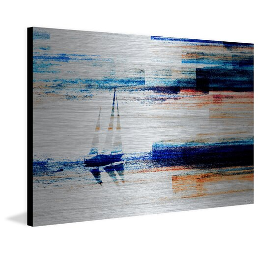Aegean Sea Painting Print
