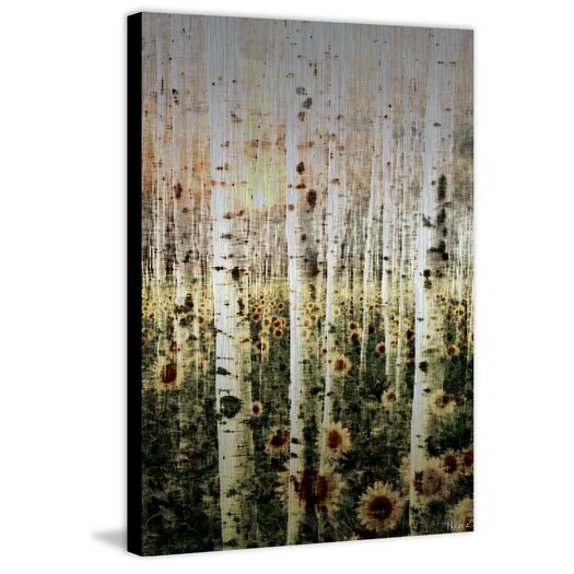 Daisy Forest Painting Print