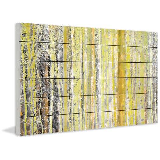 Aspen Forest 2 Painting Print
