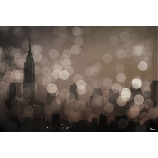 Parvez Taj New York Sleeping by Parvez Taj Graphic Art on Wrapped Canvas