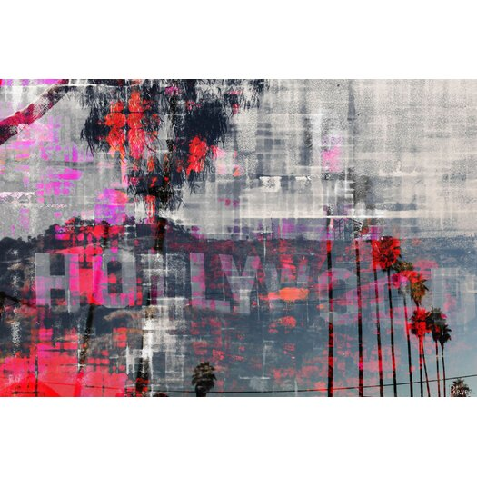 Parvez Taj Hollywood Dreams - Art Print on Premium Wrapped Canvas
