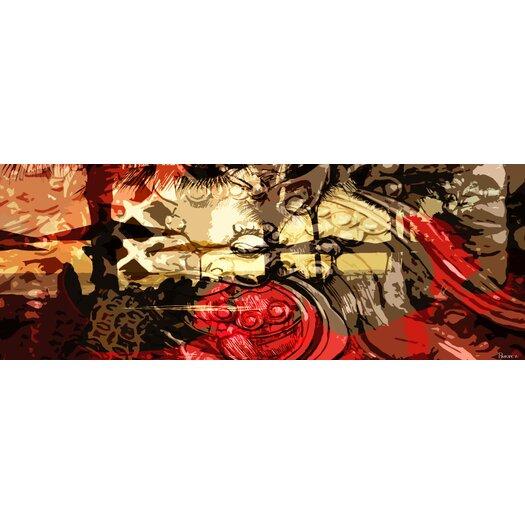 Parvez Taj Ku De Ta Graphic Art on Premium Wrapped Canvas