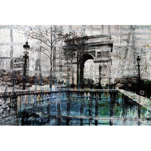 Parvez Taj De Lille Graphic Art on Premium Wrapped Canvas