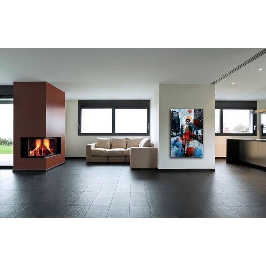 Parvez Taj James Dean NYC Graphic Art on Premium Wrapped Canvas