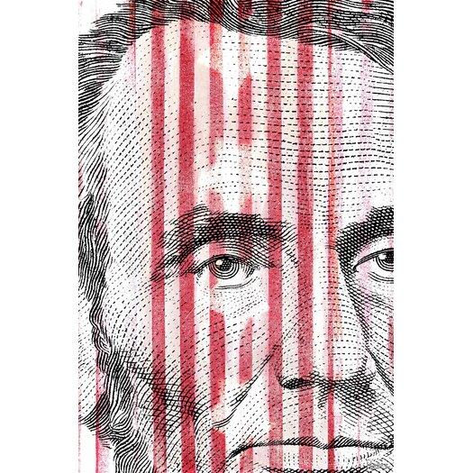 Parvez Taj Abe Lincoln - Art Print on Premium Wrapped Canvas