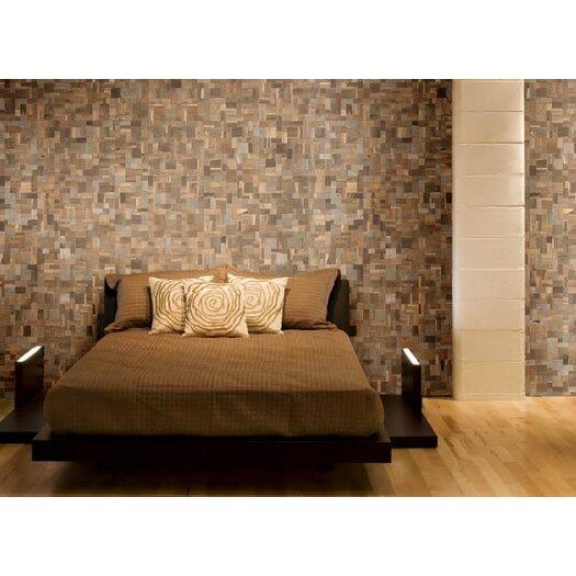 Cocomosaic Wood Mosaic Tile In Multi Color Allmodern