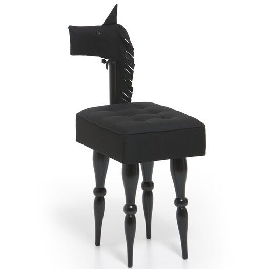 Molla Space, Inc. Pony Fabric Side Chair