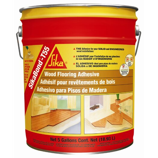 Sika SikaBond-T55 Polyurethane Adhesive for Wood Floors - 5 Gallons