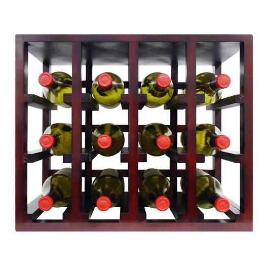 Vinotemp Epicureanist 12 Bottle Stackable Tabletop Wine Rack