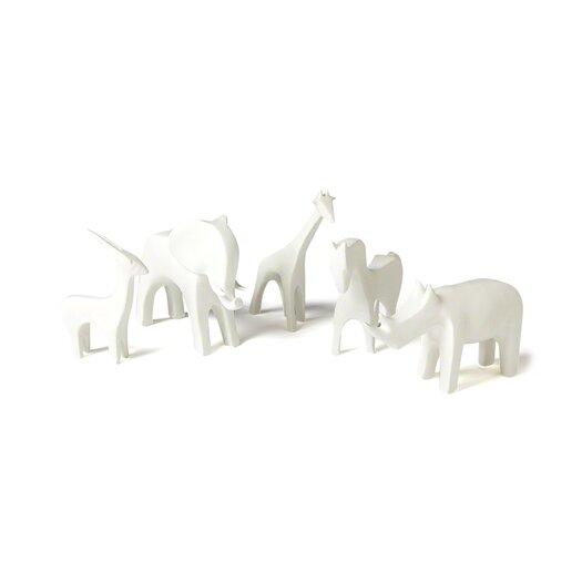 DwellStudio Giraffe White Figurine