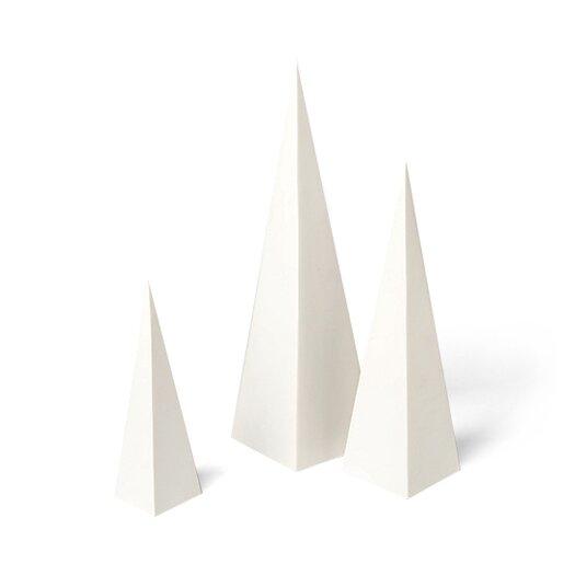 DwellStudio Pyramid 3 Piece Objet Set