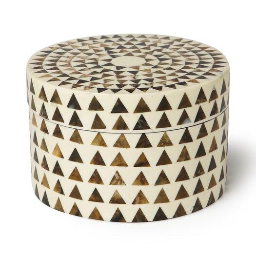 DwellStudio Triangle Stripe Box