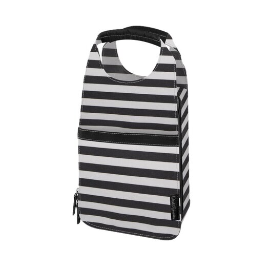 DwellStudio Mini Stripe Ink Insulated Carrier