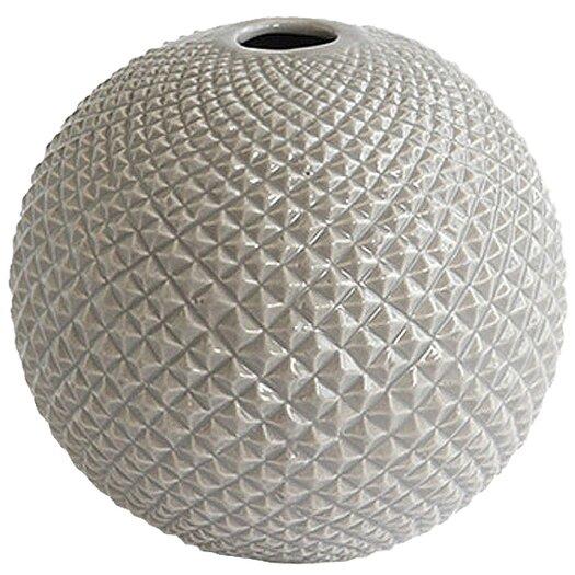 DwellStudio Diamond Cut Globe Vase