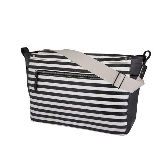 DwellStudio Mini Stripe Sullivan Diaper Messenger