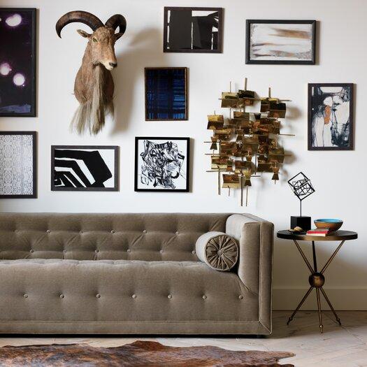 DwellStudio Folded Brass Wall Décor