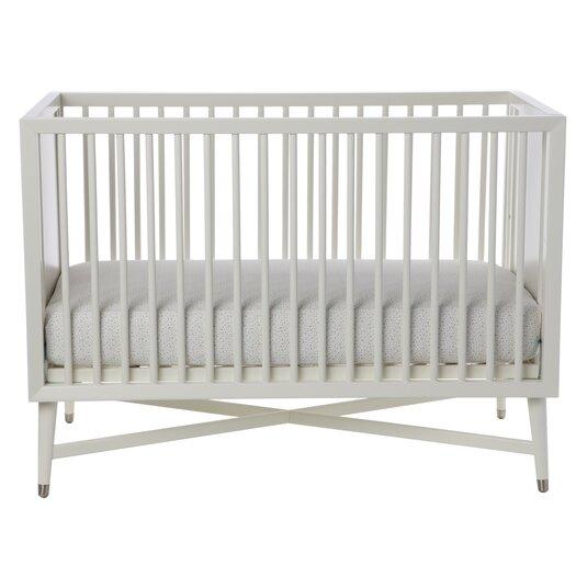 DwellStudio Mid-Century 3-in-1 Convertible Crib in White