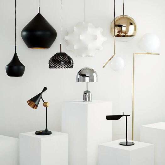 """FLOS Tab 12.87"""" H Table Lamp with Novelty Shade"""