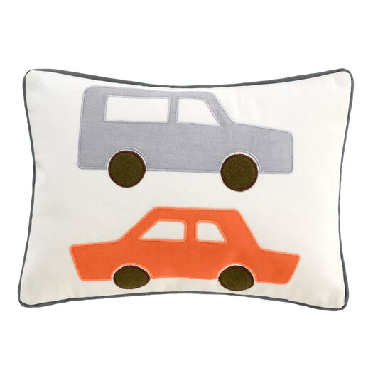 DwellStudio Skyline Cars Boudoir Pillow