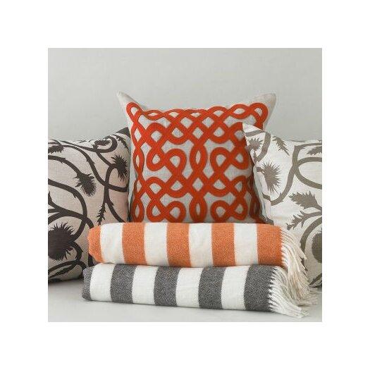 DwellStudio Labyrinth Persimmon Pillow
