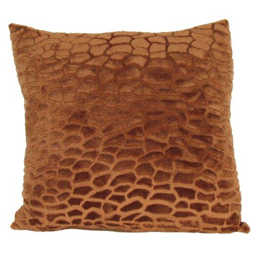 Wayborn Faux Fur Throw Pillow