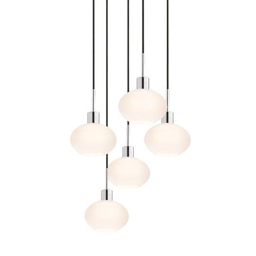 Sonneman 5 Light Demi Pendant