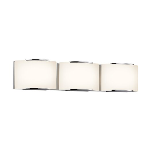 Sonneman Wave 3 Light Vanity Light