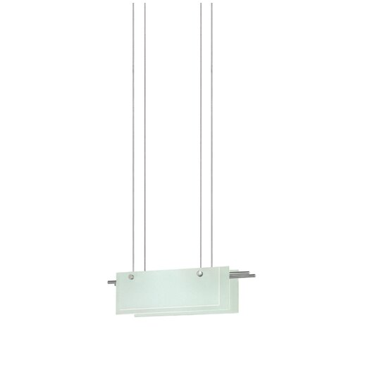 Sonneman Suspended Glass Mini Pendant