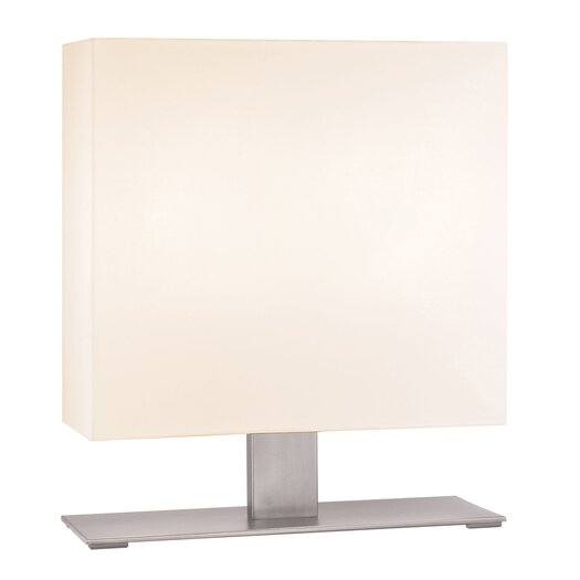 "Sonneman Mitra 20.5"" H 2 Light Table Lamp with Rectangular Shade"