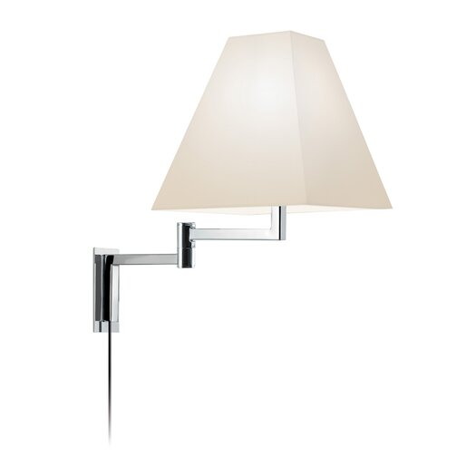 Sonneman Square Swing Arm Wall Lamp