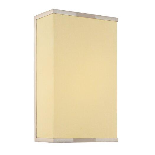 Sonneman Rettangolo 1 Light Corto Wall Sconce