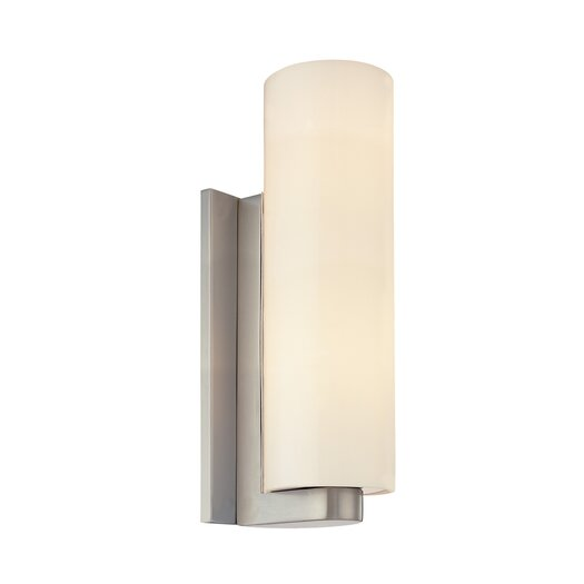 Sonneman Century 2 Light Tall Cylinder Wall Sconce