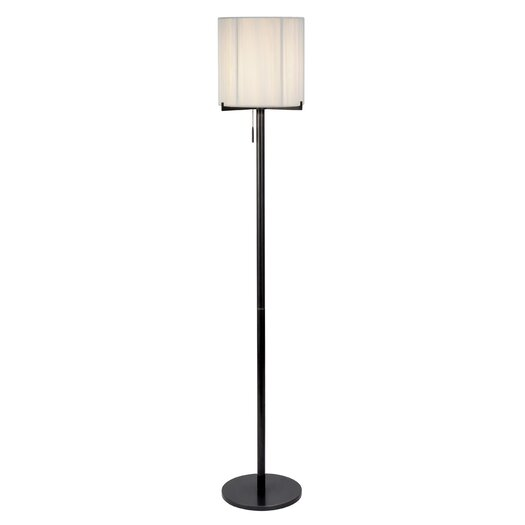 Sonneman Boxus Round 1 Light Floor Lamp
