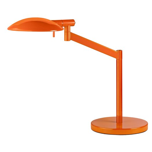 """Sonneman Perch Pharmacy Swing Arm 17"""" H Table Lamp with Bowl Shade"""